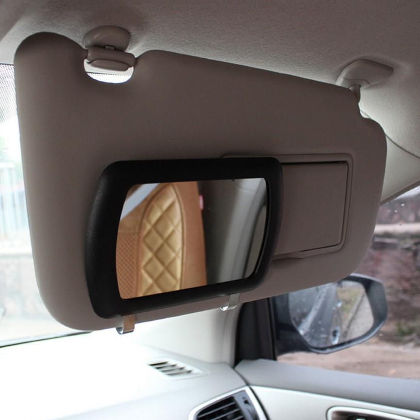 Sun visor mirror Large Car Makeup Sun shading Mirror car