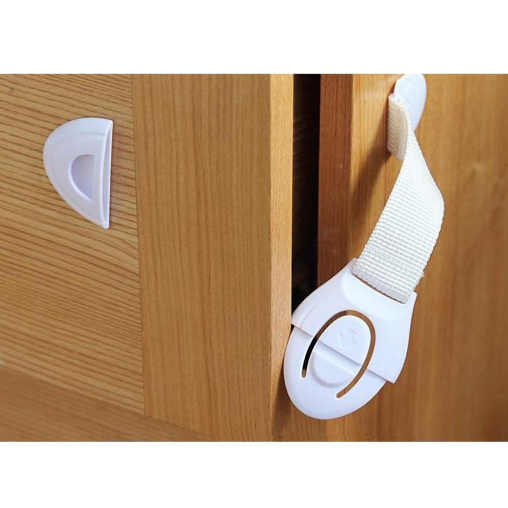 Длинная дизайн замок выдвижного ящика младенцы безопасный замок младенческой дверь и выдвижной ящик младенцы сейф замок, Младенцы палец протектор JJ0961