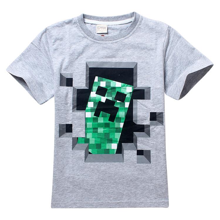 cfeada1a6 Detail Feedback Questions about Minecraft Children Clothing 2018 autumn  Long Sleeve Hoodies T Shirt Batman Spiderman Cartoon T Shirts For Boys  Girls Kids ...