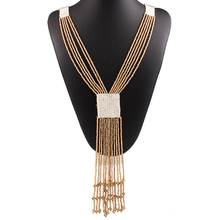 2016 new Fashion Maxi Statement Necklace & Pendant women Gypsy Vintage Choker Collar Ethnic bohemian necklace women fine jewelry