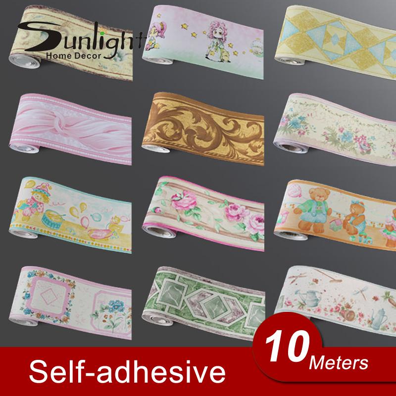 27 Promo Code For Home Decorators: Self-Adhsive-PVC-Wallpaper-border-Home-Decor-Waterproof