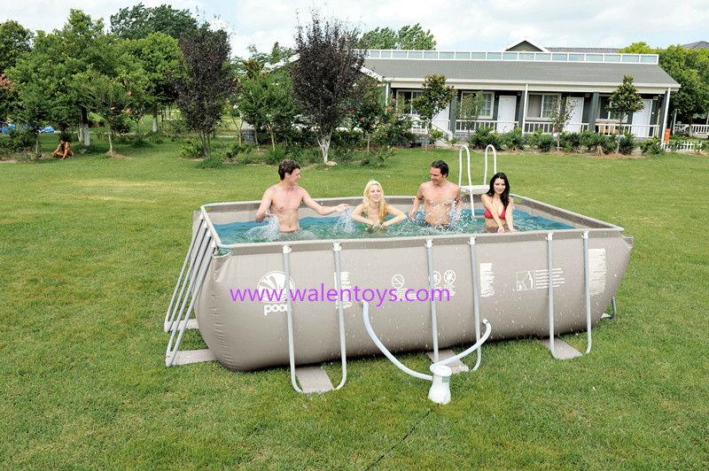 rectangular frame pools bestway metal frame pool set rectangular. Black Bedroom Furniture Sets. Home Design Ideas