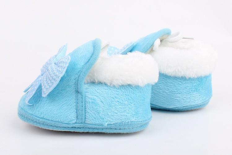 חורף חם מותק נעליים רכות בתחתית החלקה קשת נעלי פעוט הראשונה מהלכים Dropshipping Freeshipping
