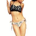 High new design Push Up Print Women Swimsuits 2016 Latest Bathing Suit Sexy Bikini Set Swimwear