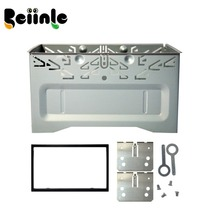 For 178mmx100mm Size 2 Din Universal Car NAVIGATION  Panel / Car Dash Frame Kit / Metal Cage Free Shipping