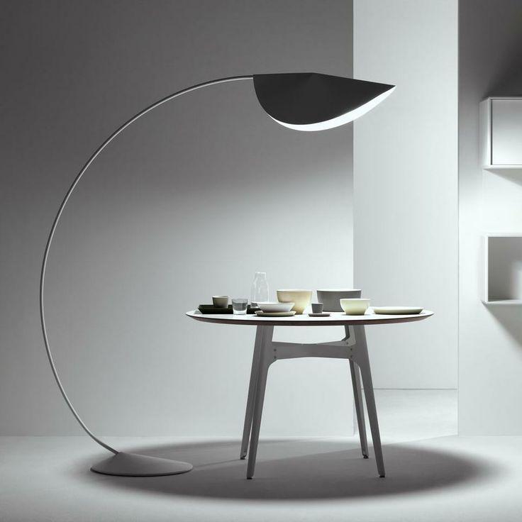 large semi circle arc lamp fishing circle floor lamp ikea living room floor lamp modern luxury. Black Bedroom Furniture Sets. Home Design Ideas