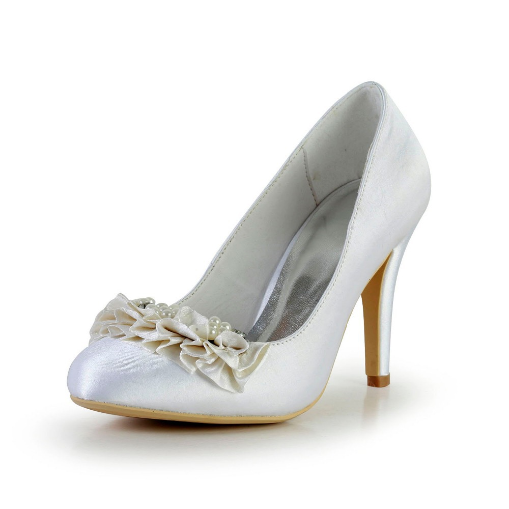 Bridal Shoes For Cheap: Cheap 2015 Free Shipping Spring Pearls Women Shoes Bridal