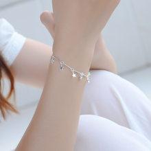 TJP новые модные 925 Серебряные женские браслеты, ювелирные изделия, высокое качество, Бамбуковая цепочка, звезда, серебряные браслеты для дев...(Китай)