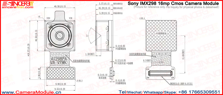 Datasheet) gc0308 pdf 1/6. 5'' vga gccm0o3s08i mage sensor.