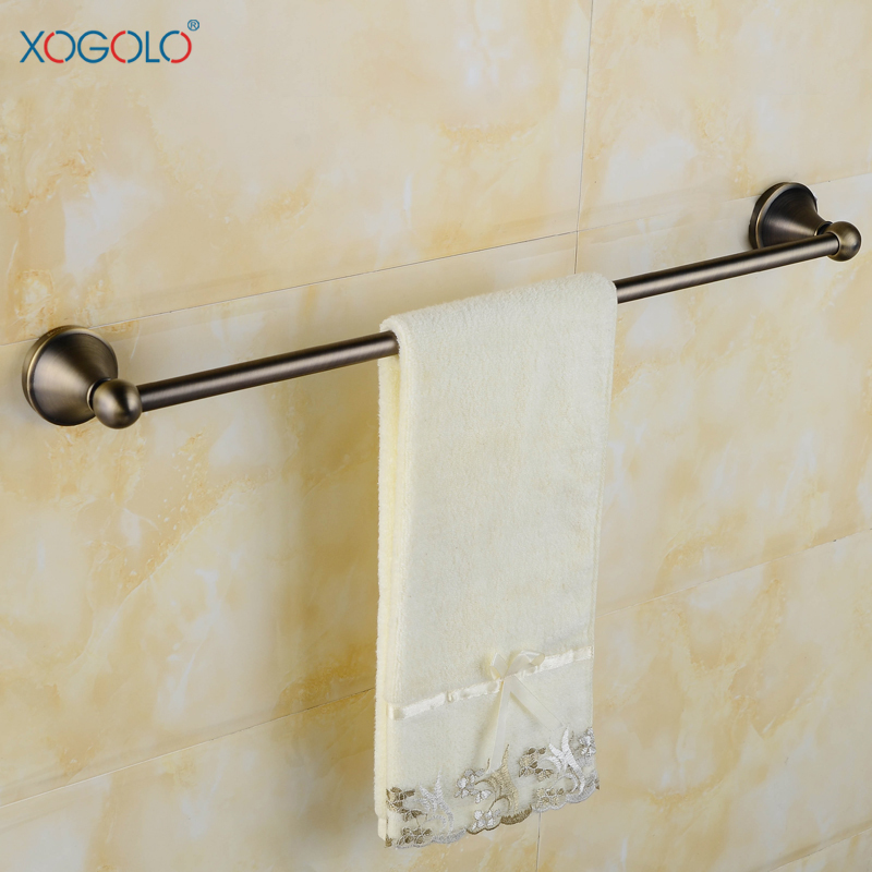 XOGOLO European stainless steel bathroom towel rack bronze