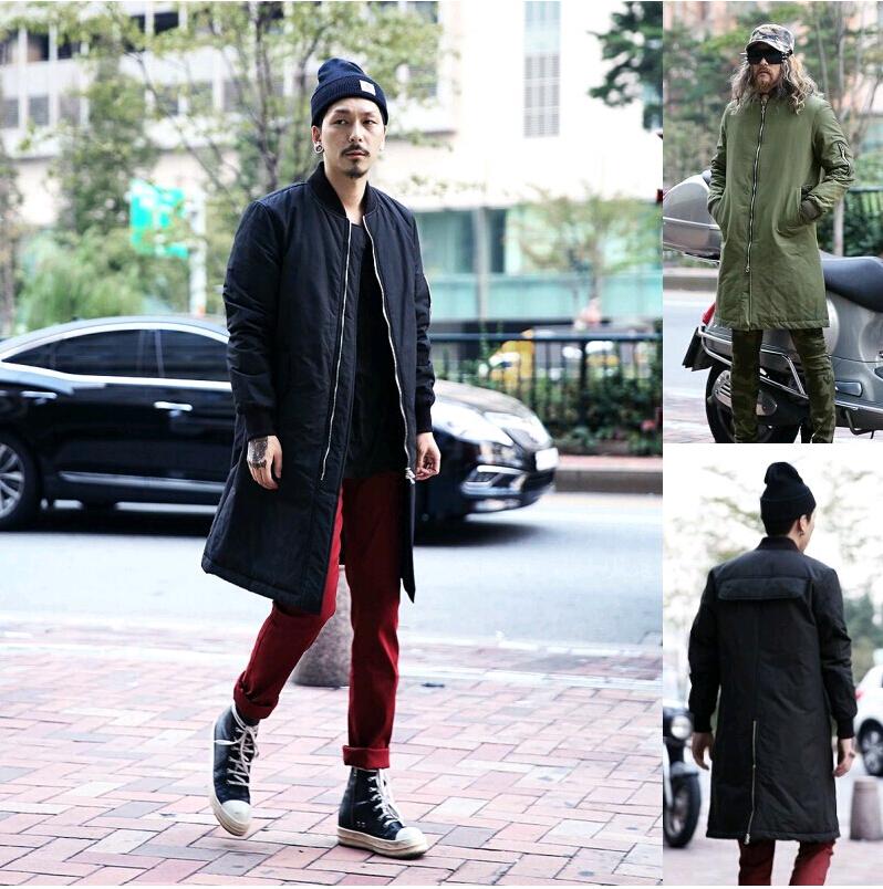 Hot 2014 Winter Men s Clothes Down Jacket Coat Polo Snow Baseball Long Mens  Parka Brand Army Green Black 23f8b62cd60