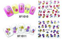 2016 Nails Manicure Nail Sticker 2 Sheet Wholesale Stickers Xf 3d Nail Polish An Optional Companion