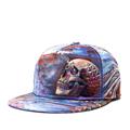 Brands 3D printing Skull Punk street quality cotton Men Women Sports Hat Hats Baseball Cap Hip