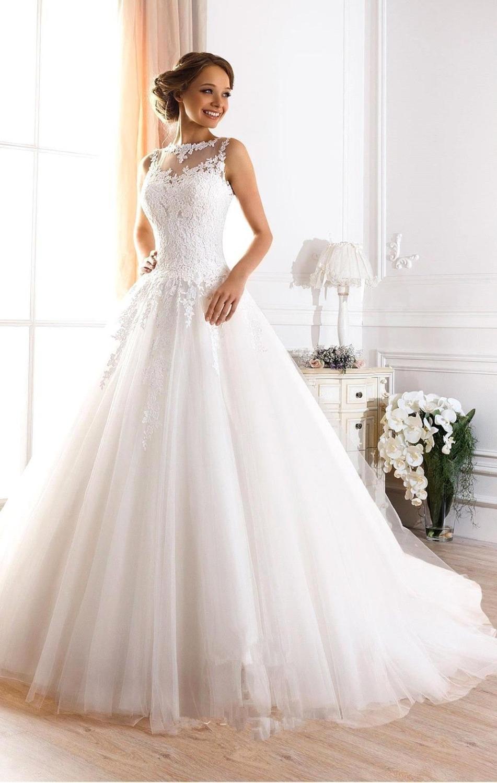 Aliexpress.com : Buy Vestidos de novia 2016 Cheap White ...