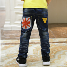 New arrival fashion children jeans for boys, high quality Korean children's pants,baby boys pants,kids boy jeans