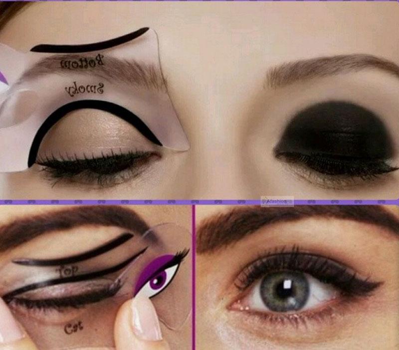 photo regarding Printable Eyeliner Stencils referred to as Printable Eyeshadow Stencils - 0425