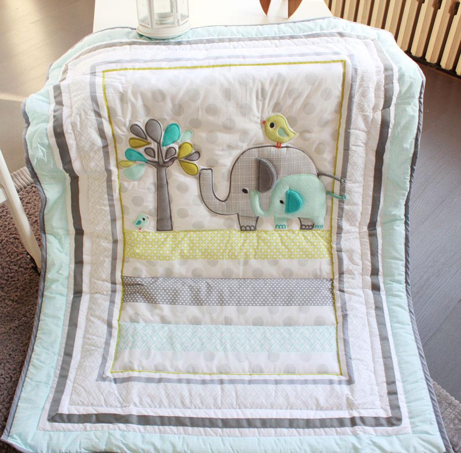 2015 New 7 Pcs Baby Bedding Set Baby Crib Bedding Sets