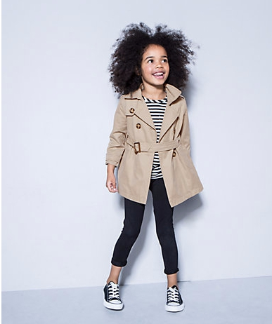 2016 Spring and Autumn coat fall girl baby fashion children jacket breasted cardigan sweat jacket trench