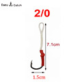 5pcs bag fishing hooks stainless steel sport Fly Tying Jig Bait Fishhooks Fishing Accessories 10827 size