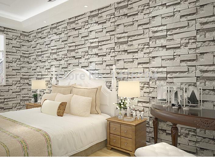 backstein tapete schlafzimmer ihr traumhaus ideen. Black Bedroom Furniture Sets. Home Design Ideas