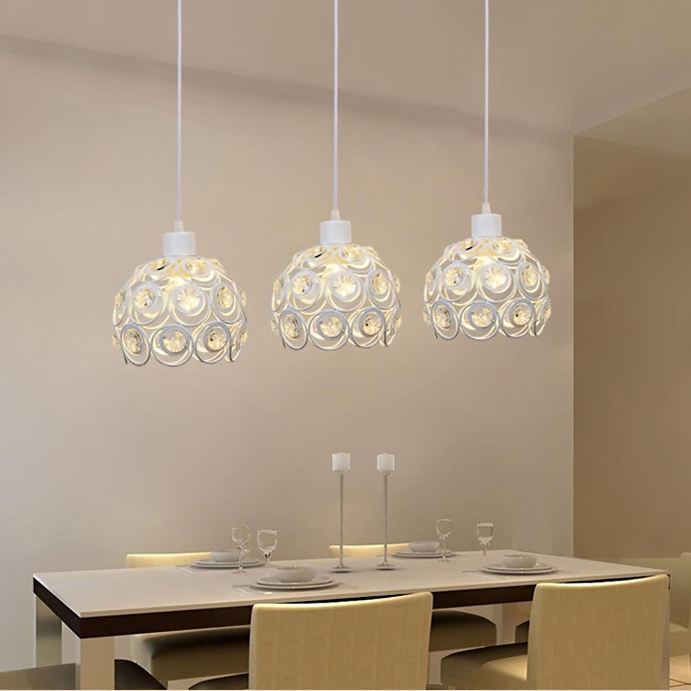 Pendant Lighting Dining Room: LED Pendant Lamp Three Head Light Dining Room Modern Brief