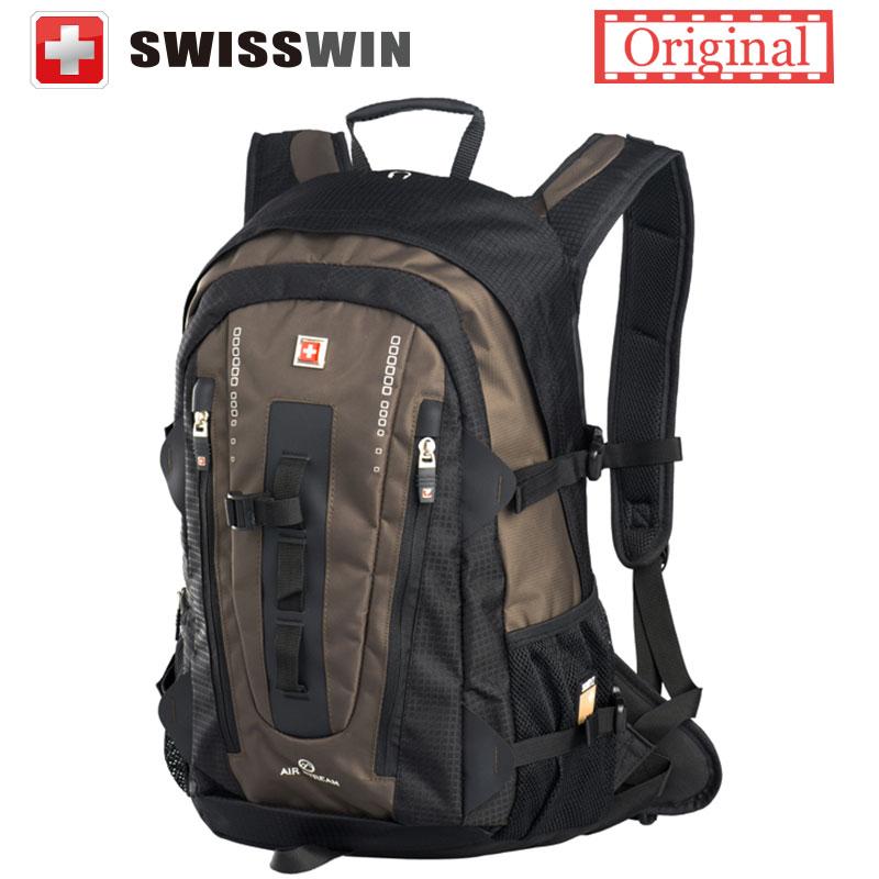 Swisswin Mochila 32L Grandes de La Moda Multi bolsillo