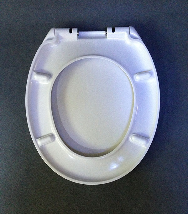 Soft Closing Duroplast Toilet Seat Purple Toilet Seat