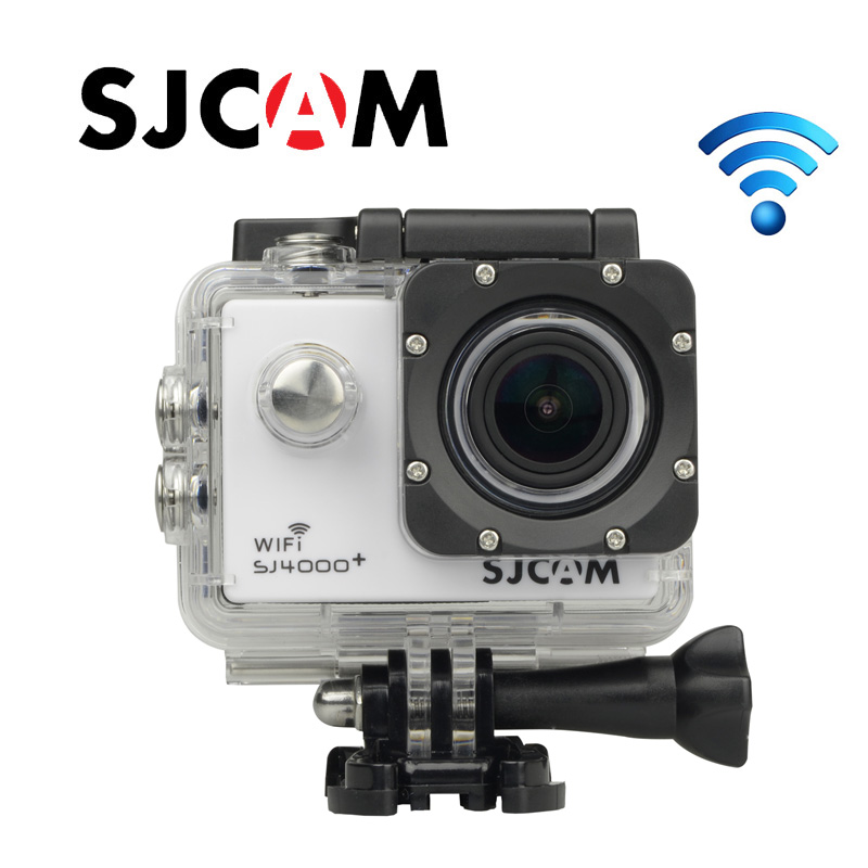 Free Shipping!!Original SJCAM SJ4000 Plus 2K Novatek 96660 Diving 30M Waterproof WiFi Action Camera 1080P 60FPS GoPro Style Cam