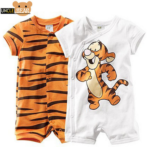 Hot cotton romper baby rompers Tiger Stripe Newborn baby clothes baby Boy Girl Clothing Jumpsuit One-Pieces Free shipping ,Y-172