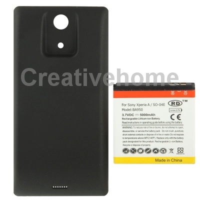 Ba950 5000 мАч замена аккумулятор мобильного телефона крышка задней двери для Sony Xperia ZR / M36h