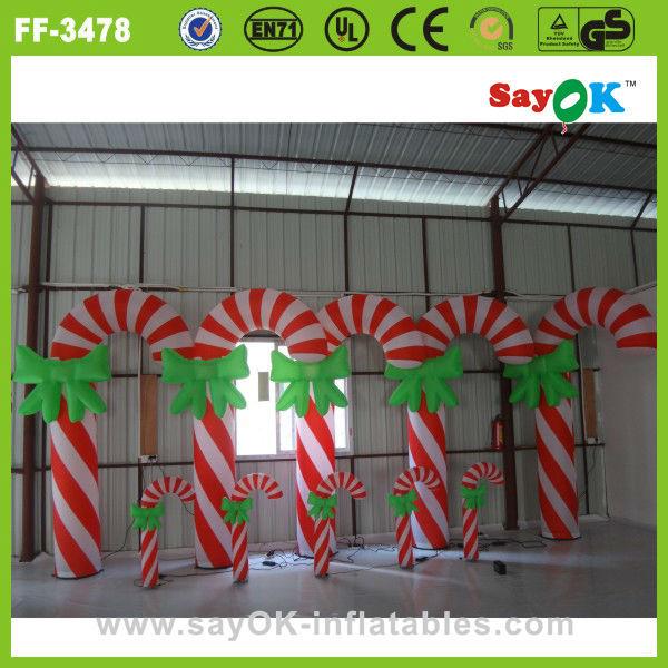 Renne Gonflable Decoration Exterieur