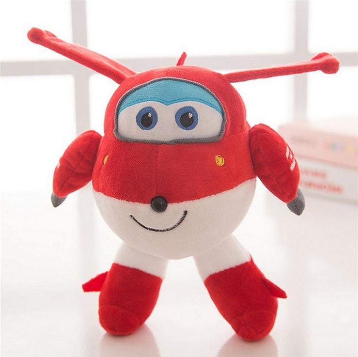 Super Wings Superwings Jett Cartoon 22cm Plush Toys Stuffed Animals Plush Toy