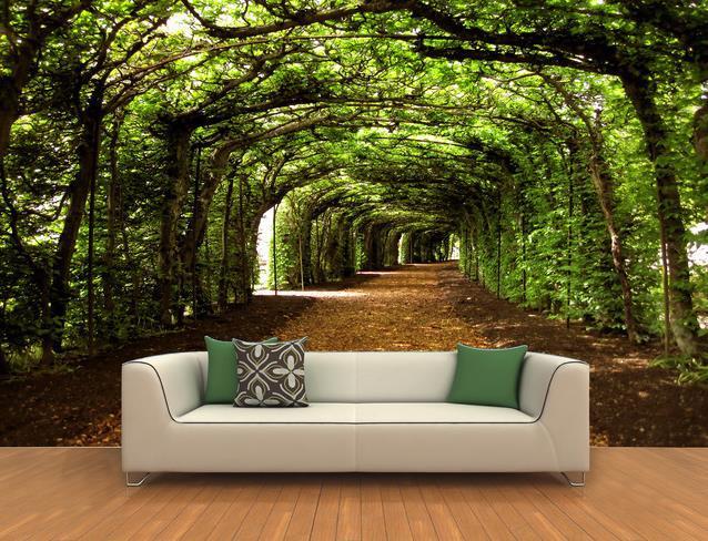 achetez en gros papier peint peinture murale de l 39 arbre en ligne des grossistes papier peint. Black Bedroom Furniture Sets. Home Design Ideas