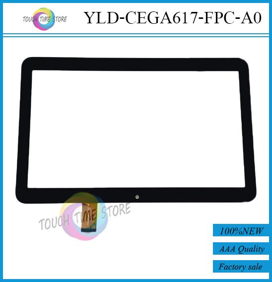 Бесплатная доставка 10.1 '' дюймовый сенсорный экран, 100% новое сенсорная панель, Планшет пк сенсорная панель планшета YLD-CEGA617-FPC-A0