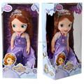 2014 Hot Original edition 12inch Sofia the First Sofia princess Bobbi doll VINYL toy boneca accessories