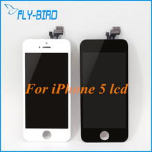10PCS/LOT Original Capa LCD Display  With Assembly Screen Replacement For iPhone 5 5G Free Shipping DHl