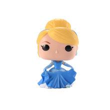 FUNKO POP Princess doll Belle, Золушка, Рапунцель, Тиана, Ариэль, Коллекционная модель игрушек для детей(Китай)