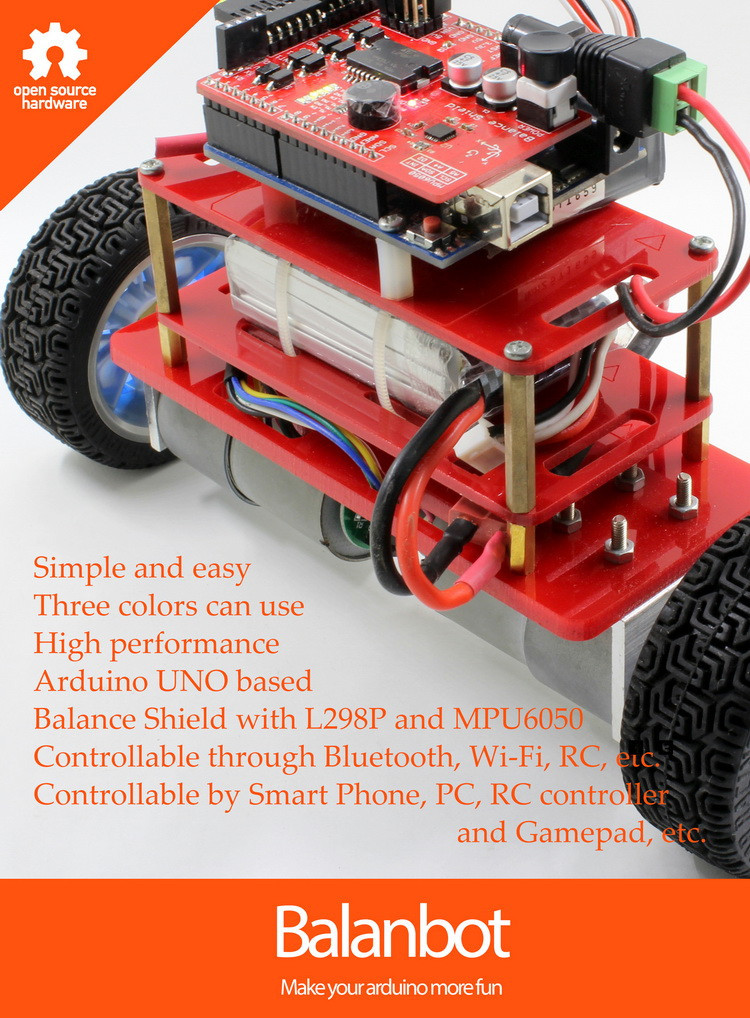 Balanbot: Arduino UNO based Self-balancing Robot
