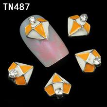 10pc Glitter Diamond Shape Rhinestones 3d Nail Art Decorations Alloy Nail Sticker Charms Jewelry for Nail