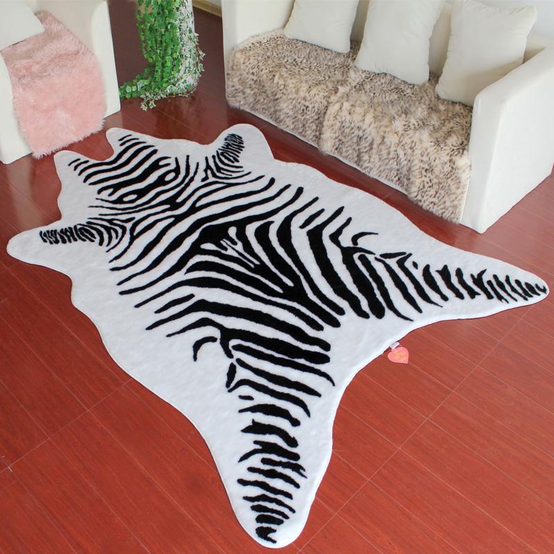 Fashion-brief-zebra-print-carpet-bedroom-modern-rugs-and