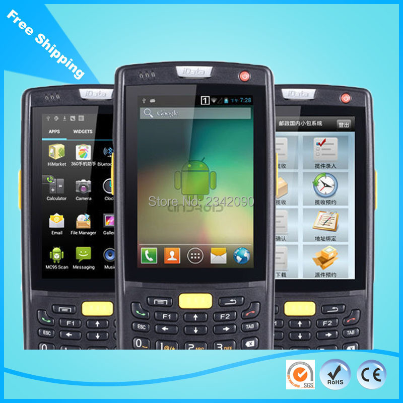Express delivery using 1D barcode scanner mobile terminal Warehousing  manage data terminal WIFI Bluetooth GPS