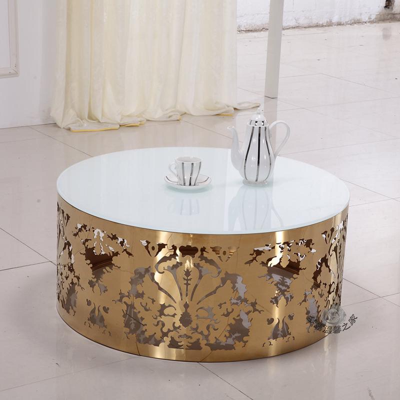 Ikea Round Wire Coffee Table: Fun In Stainless Steel Circular Glass Ikea Metal Edge