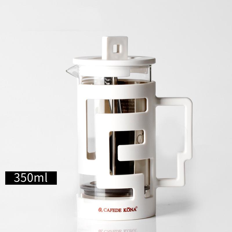 Для французских кафе пресс-Кофеварка 350 мл 800 мл перколяторы кофеварка с пищевое стекло стены дать ложку(Китай)