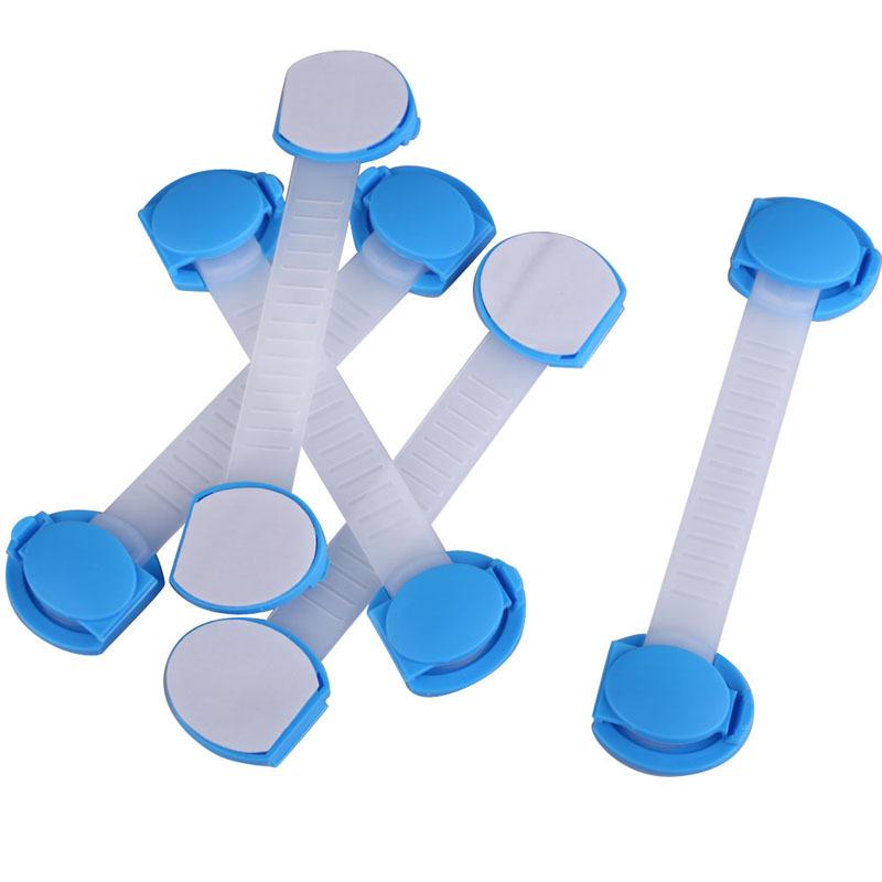 Ls4g 5 шт. комплект детские ребенка дети ящик шкафа замок долго стиль замком синий