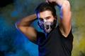 Wireless Bluetooth Earphone with Mic face Mask Anti Dust Stereo Music Headphone Handfree Headset Bone Conduction
