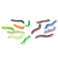 OOTDTY 2017 Twisty Worm Realistic Fake Caterpillar Insect Educational Trick Toy Plastic 12pcs APR05 17