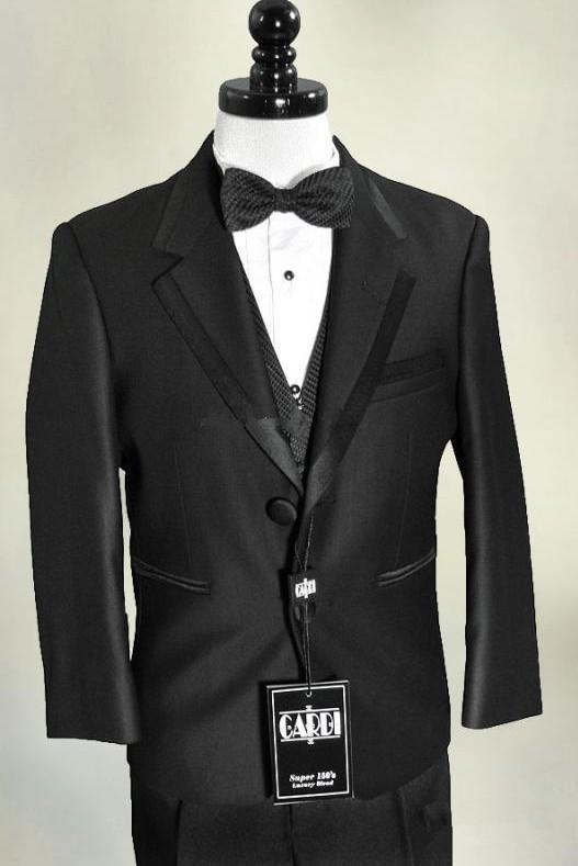 Fashion 3 Piece Designer Solid Handsome Black Wedding ...