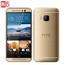 Original Unlocked HTC one m9 mobile phone 5.0″ Octa-Core 4G LTE GPS WIFI NFC 3G RAM 32G ROM 20MP camera1920*1080P Android