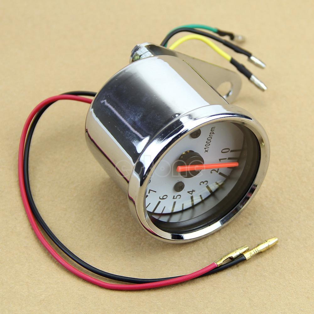 Бесплатная доставка универсальный механика 13000 об./мин. мопедов аналоговый датчик для мотоциклов