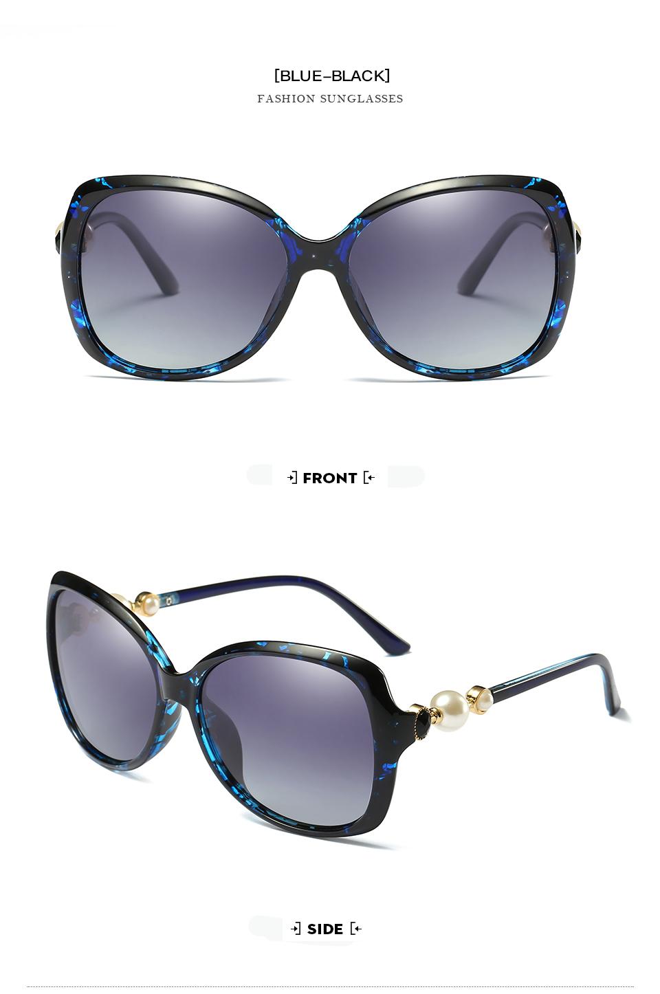₪Women Fashion Brand Designer Gradient ⊰ Sunglasses